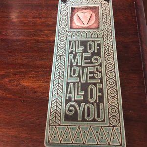 Artisan crafted ❤️ Plaque